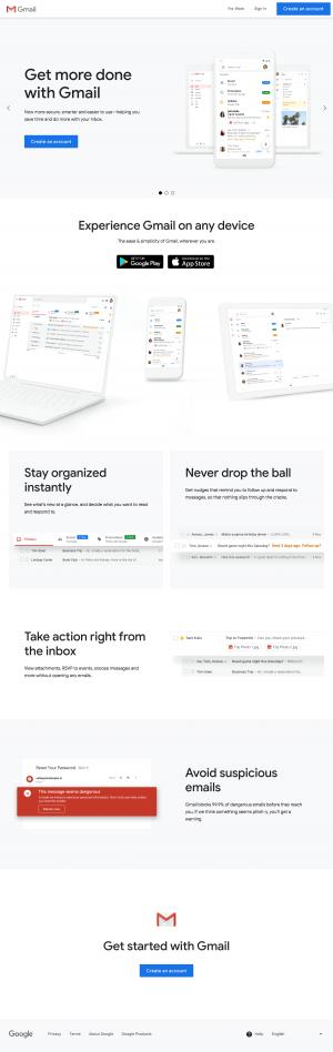 Gmail - Homepage