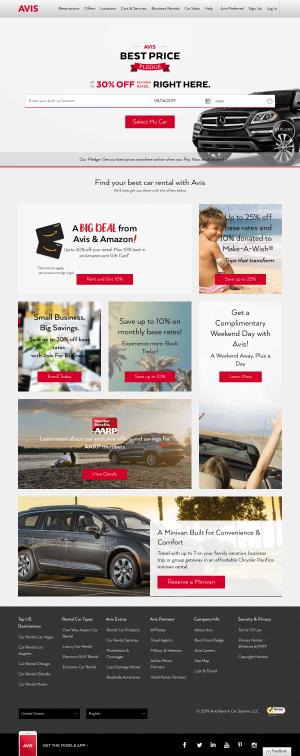 Homepage - avis