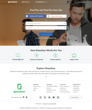 Homepage - Glassdoor