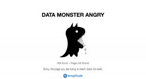 Amplitude - 404 error page