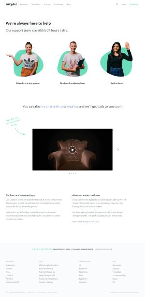Autopilot - Support page