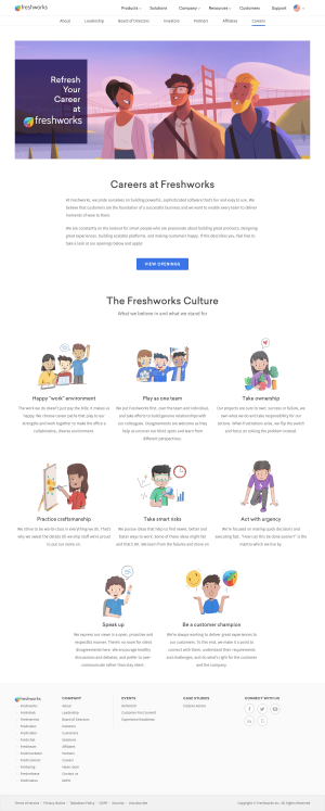 Freshdesk - Career page
