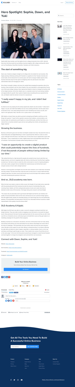Kajabi - Blog article