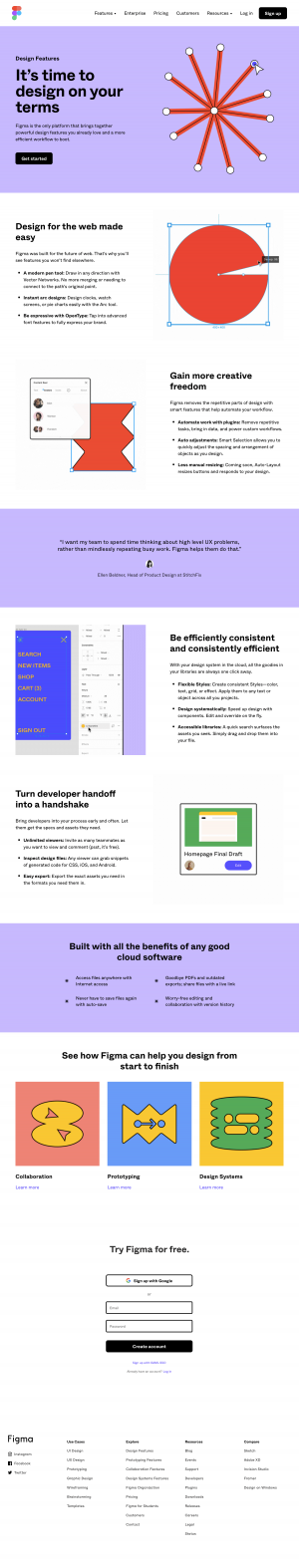Figma - Features page 1