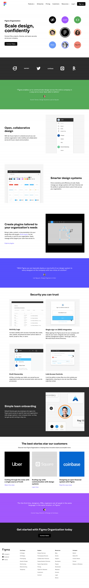 Figma - Features page 2
