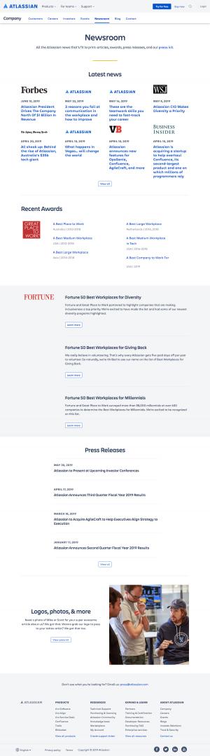 Atlassian - Media kit page 1