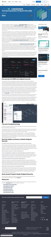 Elastic - Blog article
