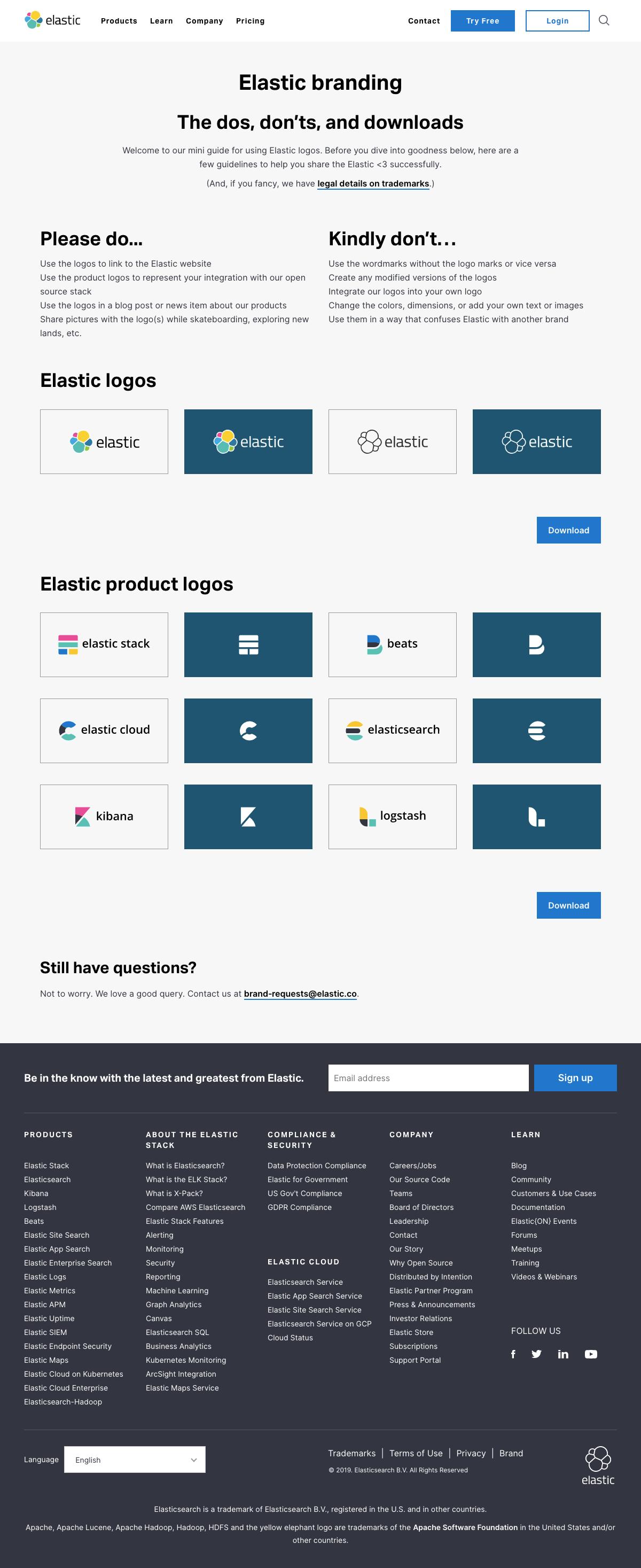 Elastic - Media kit page 2
