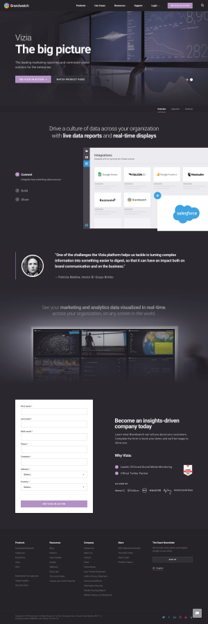 Brandwatch - Features page 2
