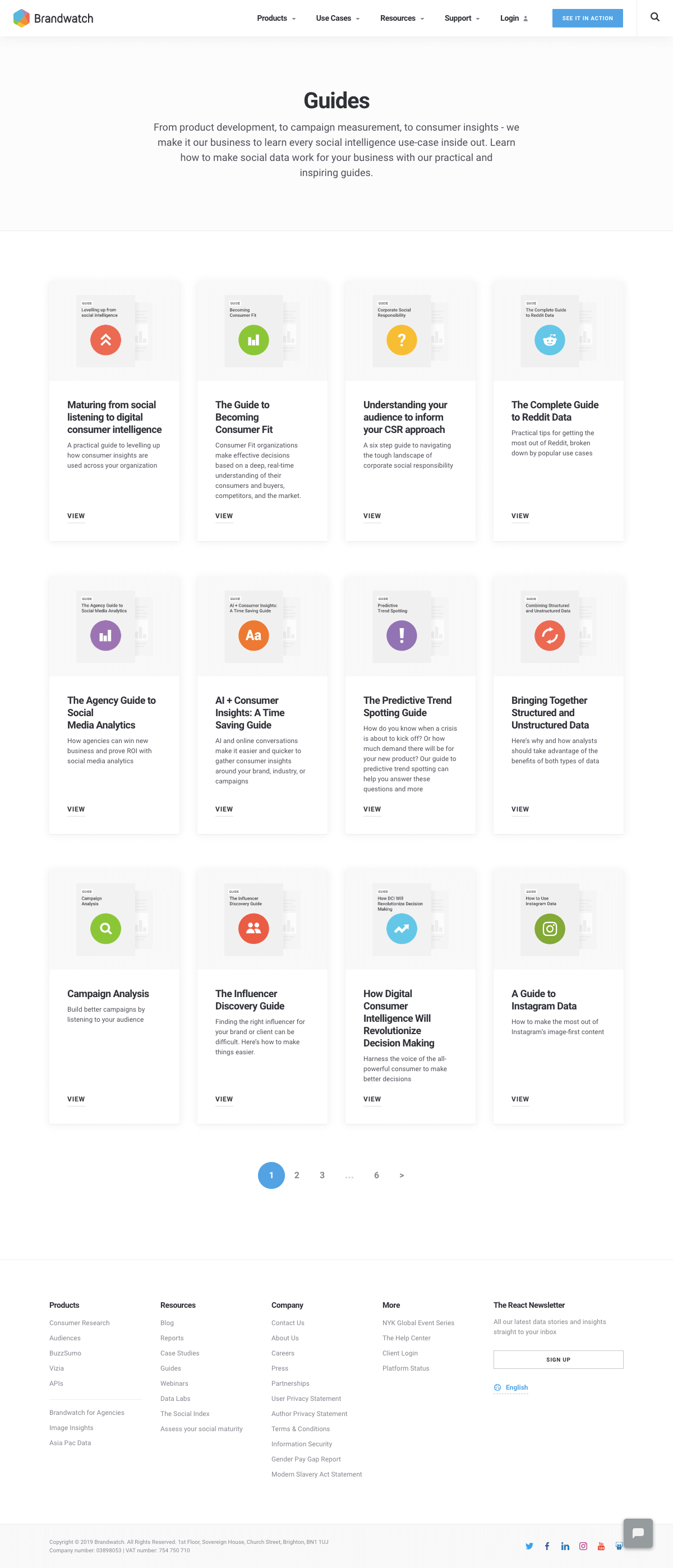 Brandwatch - Resources page 1