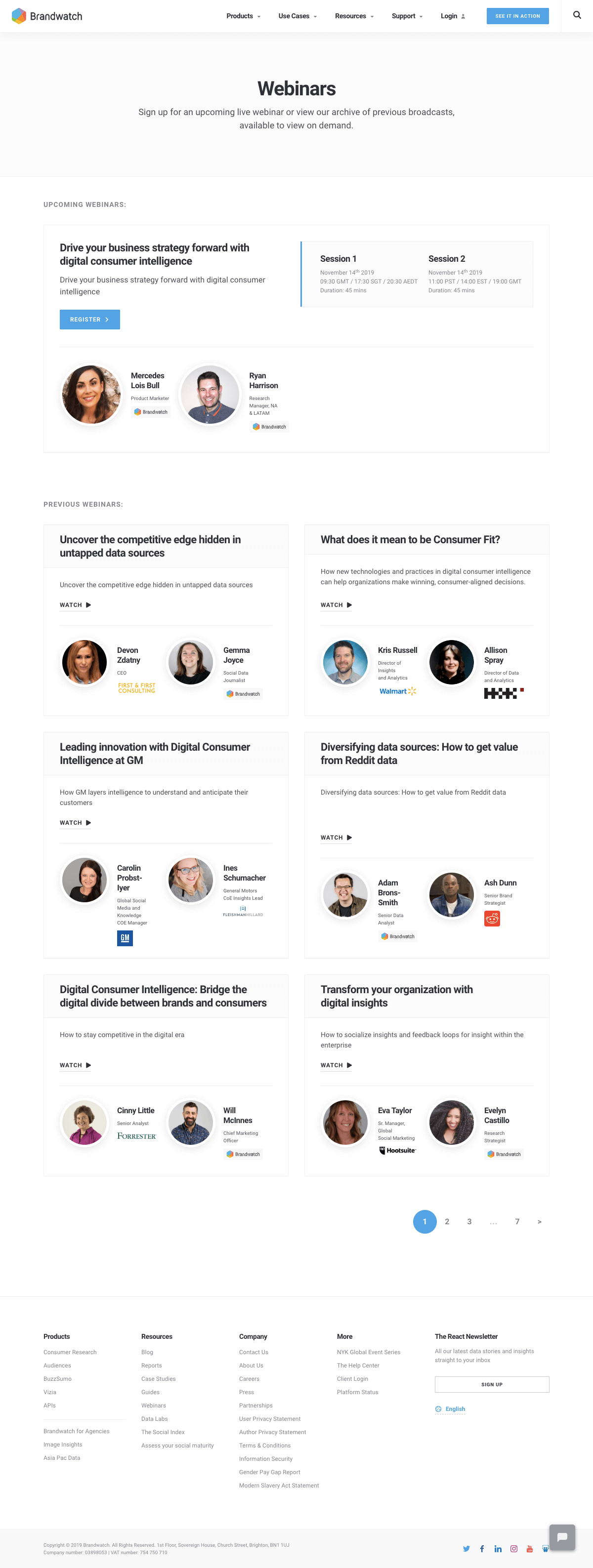 Brandwatch - Resources page 2