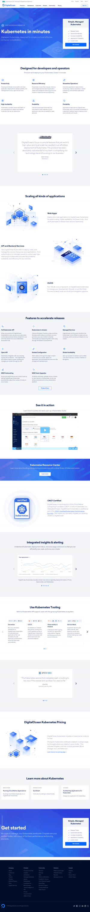 DigitalOcean - Features page 2