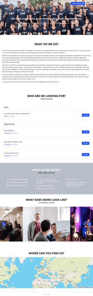 ChartMogul - Career page