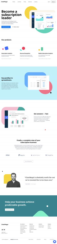 ChartMogul - Homepage