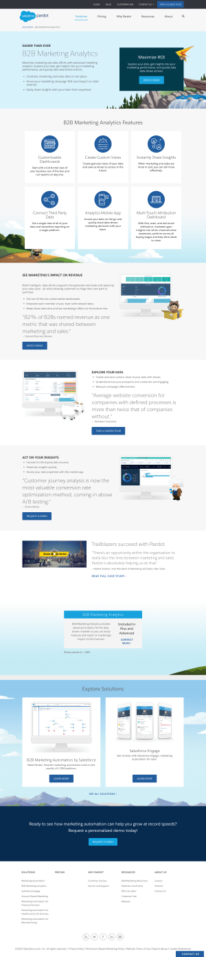 Pardot – Features page 2