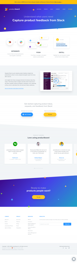 productboard – Integrations page 2