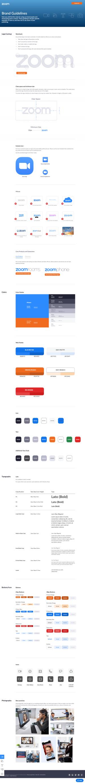 Zoom – Media kit page