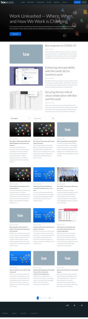 Box – Blog Index
