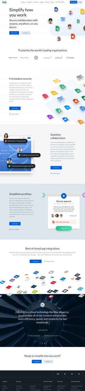 Box – Homepage