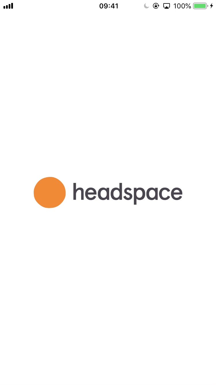 Sign up and onboarding - App - Headspace