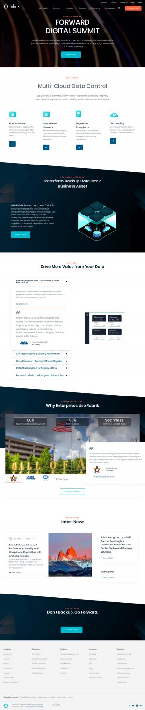 Rubrik – Homepage