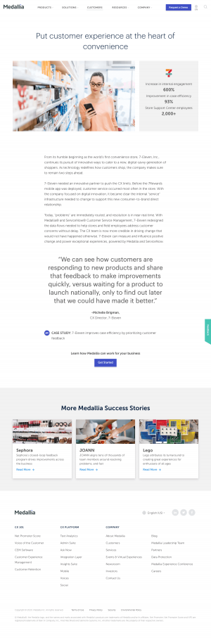 Medallia – Customers page 2