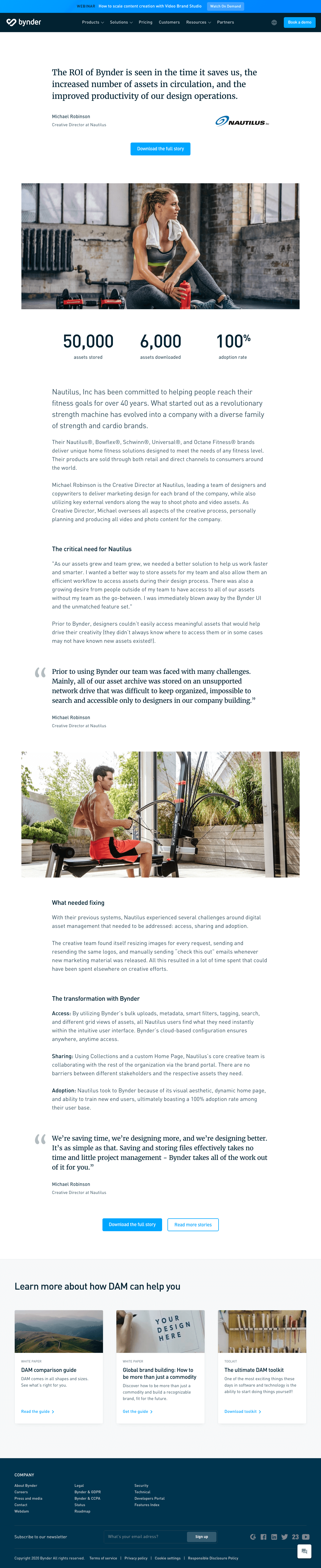 Bynder – Customers page 2