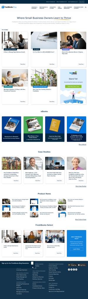 FreshBooks – Blog Index
