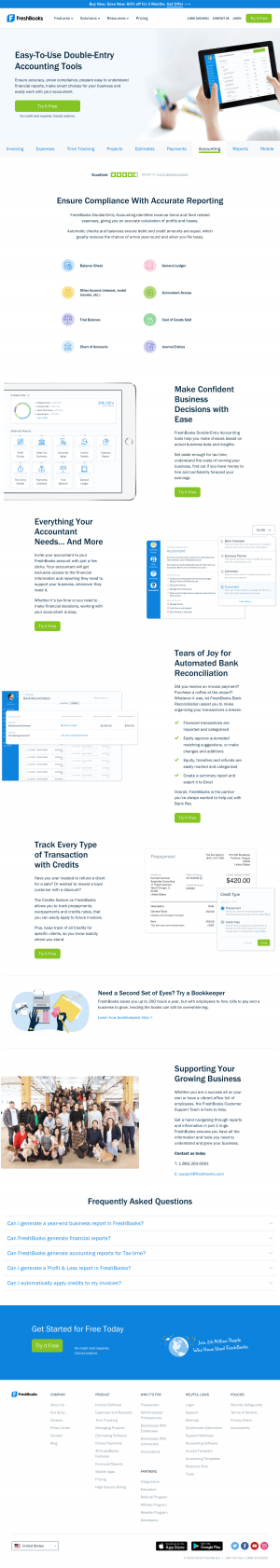 FreshBooks – Features page 3