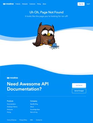 ReadMe – 404 Error page