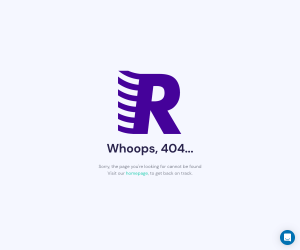 Reachdesk – 404 Error page
