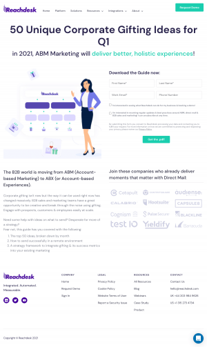 Reachdesk – Resources page 2
