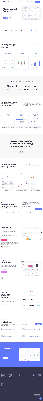 Baremetrics – Homepage