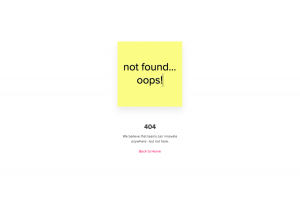 Mural – 404 Error page