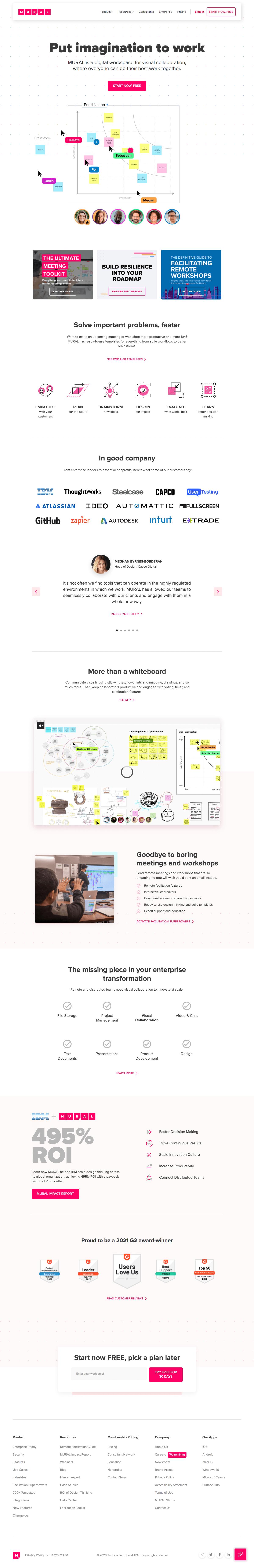 Mural – Homepage