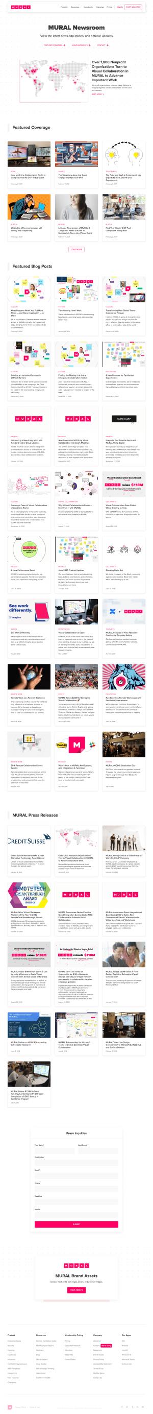Mural – Newsroom