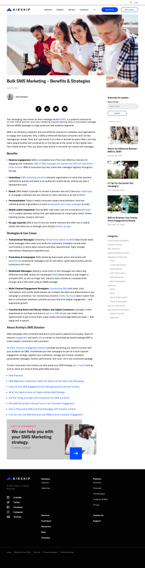 Airship – Blog Article