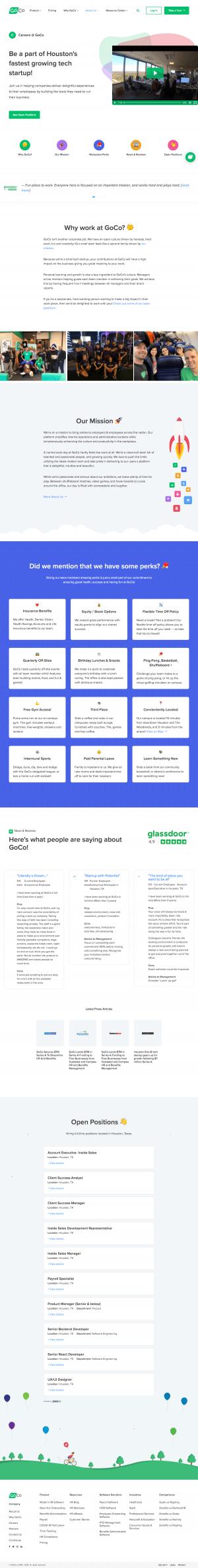Goco – Careers page