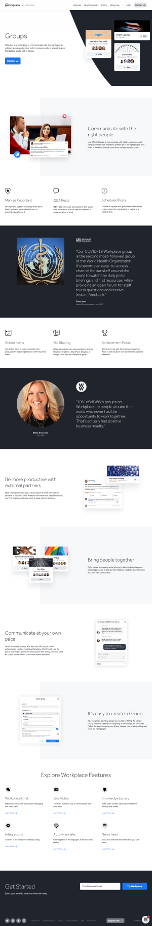 Workplace – Features page 2