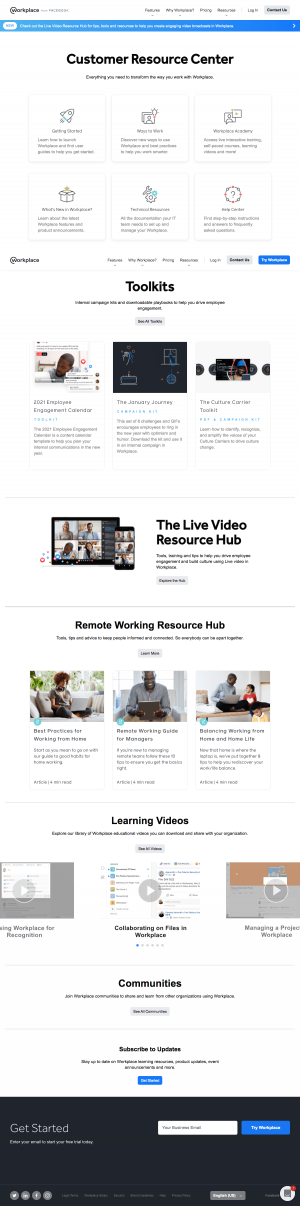 Workplace – Resources page 1