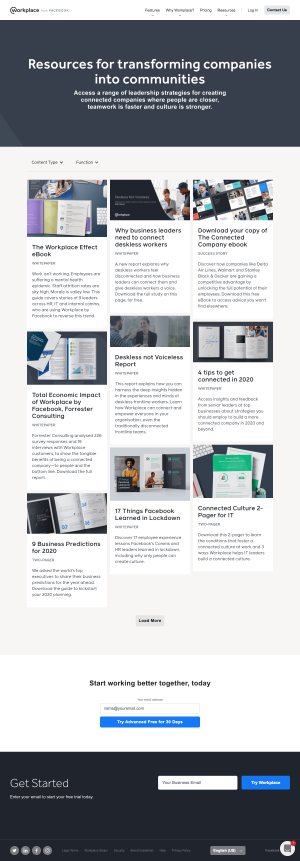 Workplace – Resources page 2