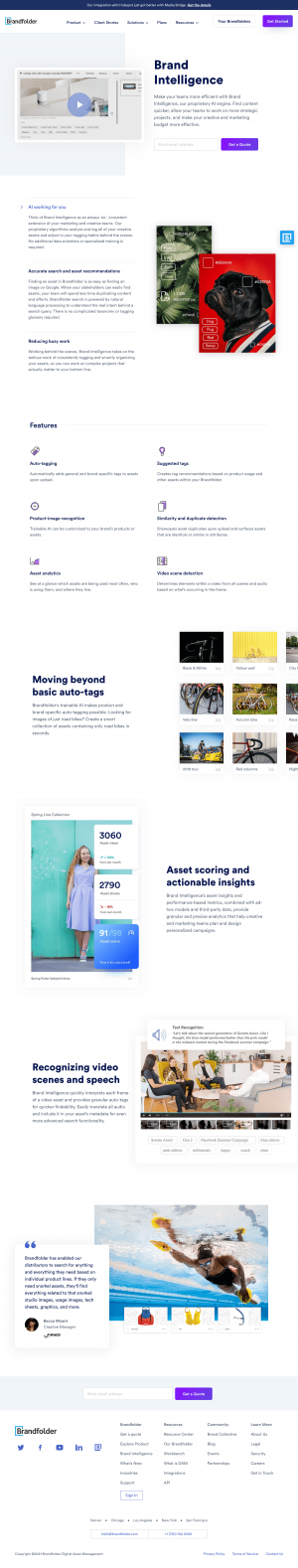 Brandfolder – Features page 1