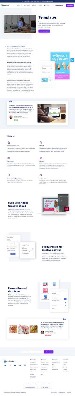 Brandfolder – Features page 2