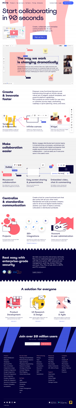 Miro – Features page 2